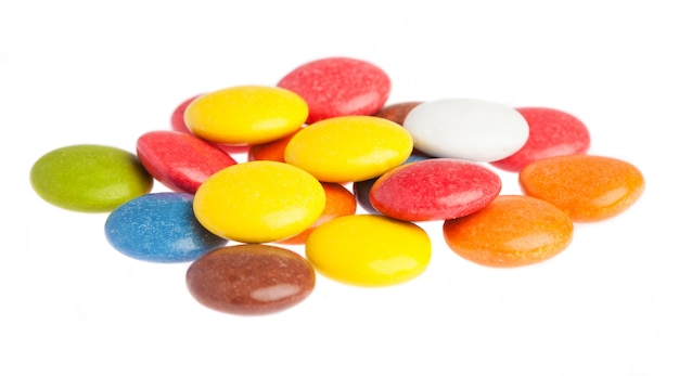 色付きキャンディー