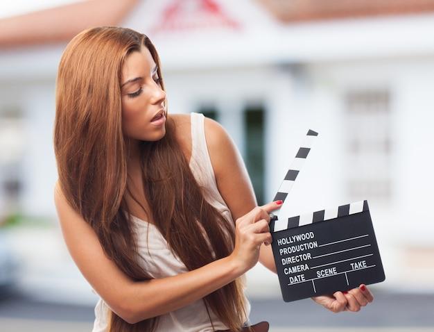 肖像画業界映画撮影のプロデューサーの下見板張り
