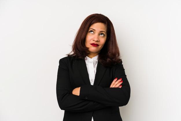 中年ラテンビジネス女性