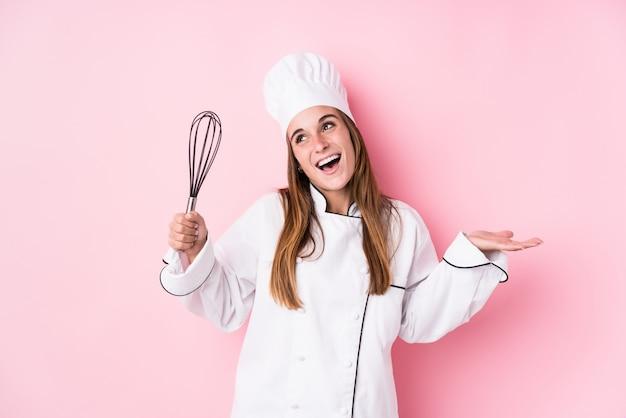 Шеф-повар кавказская варя женщину