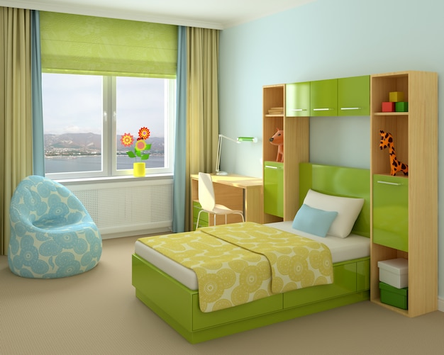 Детская комната в доме