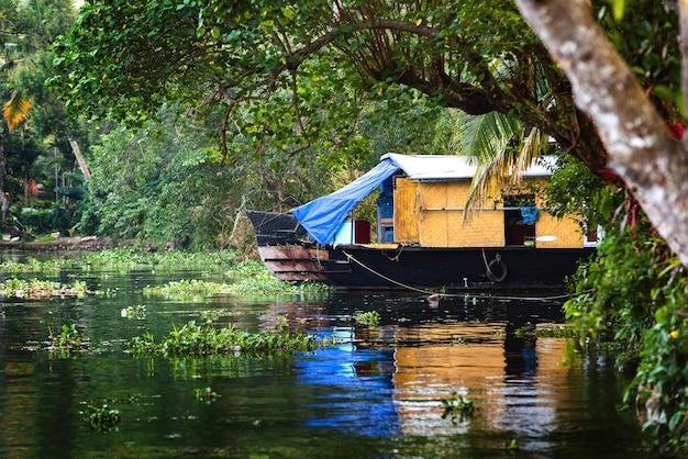 ケララ州のハウスボート