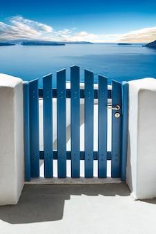 Остров санторини, киклады, греция