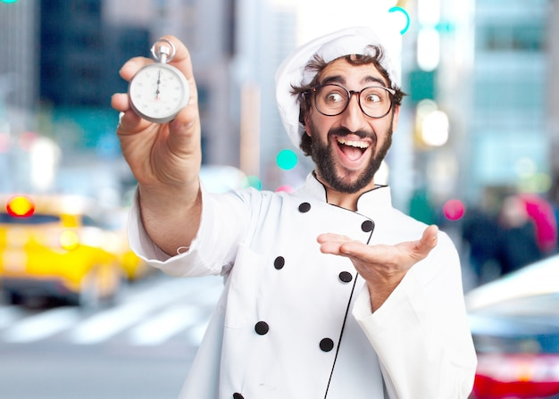 Сумасшедший повар удивил выражение