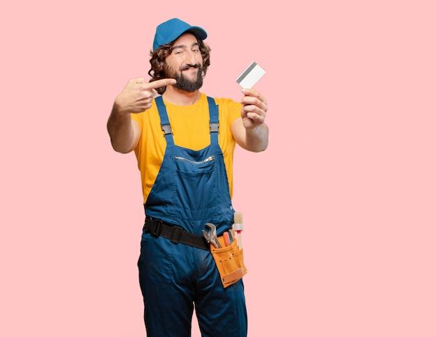 クレジットカードで便利屋ワーカー