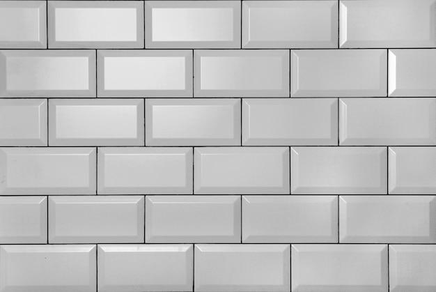 白ヴィンテージレンガの壁
