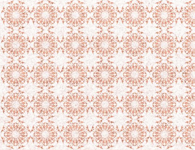 壁の図形パターン