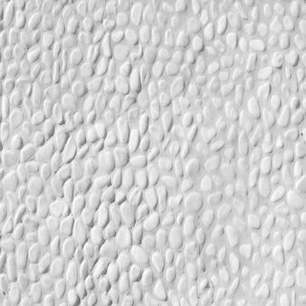 小さな白い砂利のテクスチャ