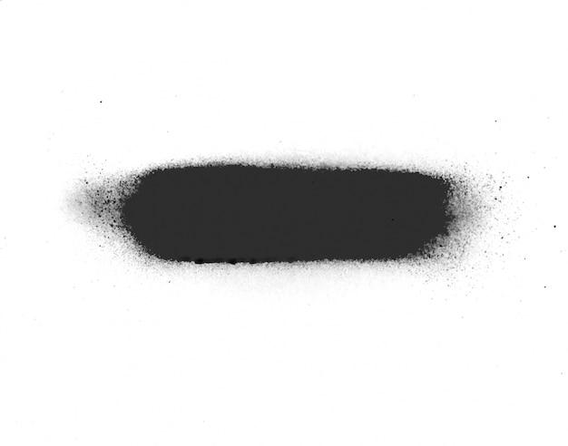 Спрей знак падения абстрактных брызг