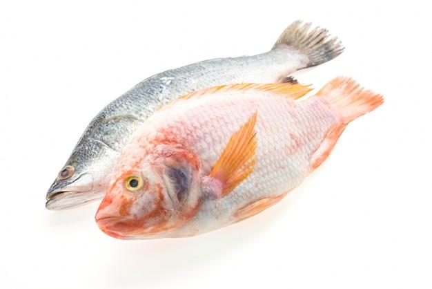 Свежая целая рыба