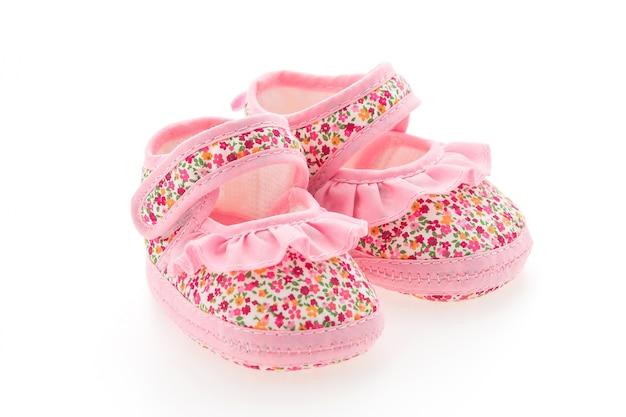 Красивые розовые туфли