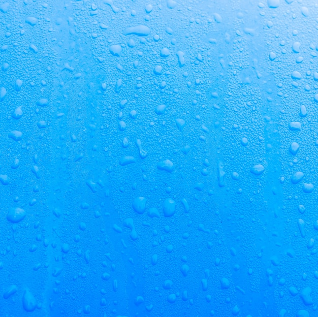 水滴ブルーテクスチャ