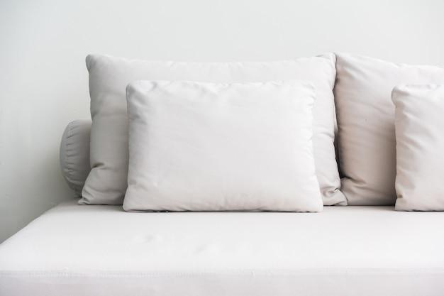 ソファの上枕