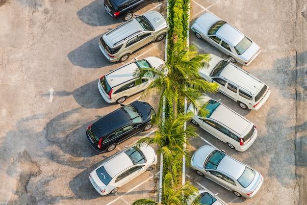 駐車場の洪水