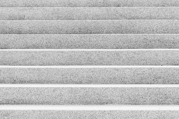黒と白のカラーコンクリート階段