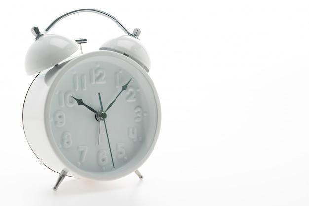 白い目覚めオブジェクトの時間を警告