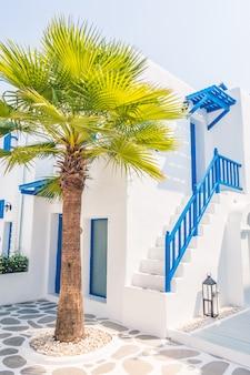 Остров европы красивый традиционный греческий