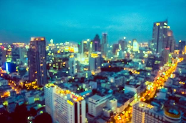 上から街の眺め