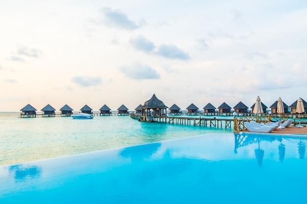Курортный отдых пейзаж путешествия синий