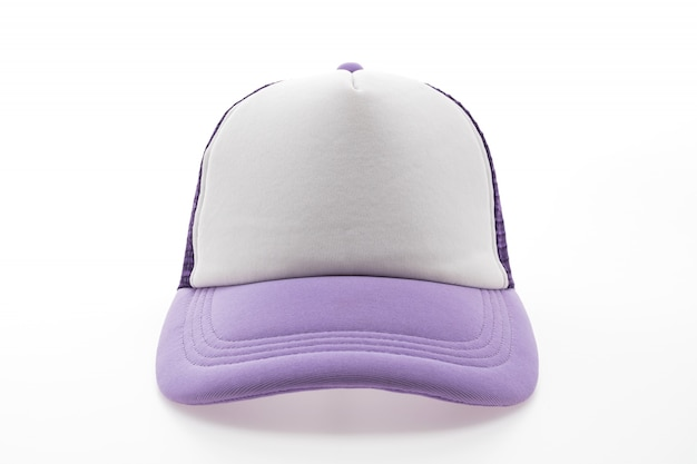 帽子バイザーテキスタイル記号の背景