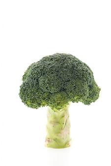 Сырой вегетарианской брокколи растительный белый