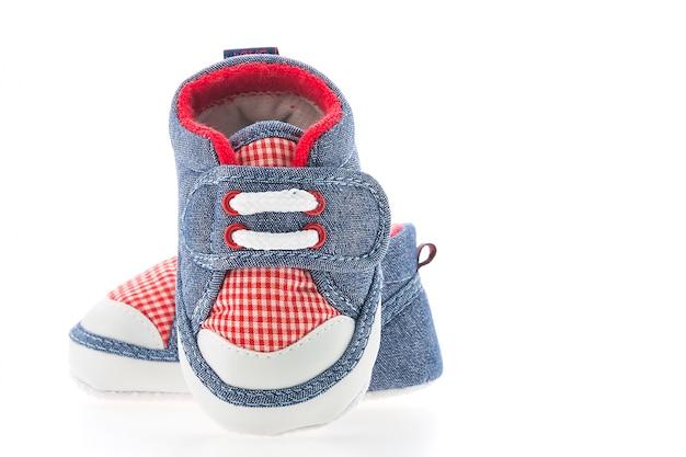 新しい服若い子供の頃の靴