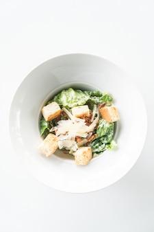 Лист цезарь блюдо зеленый гриль