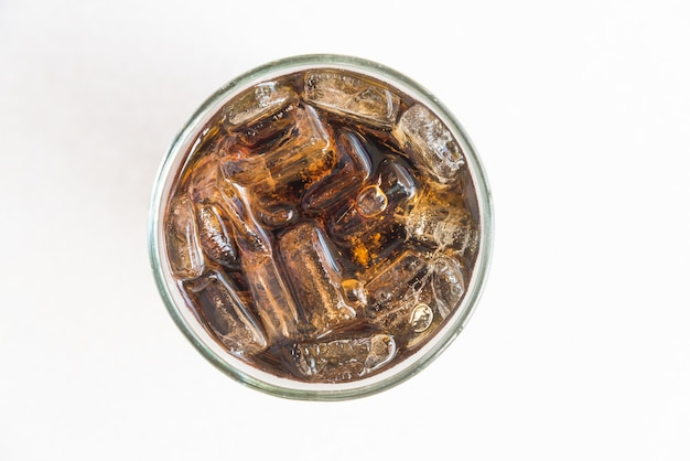 Ледяное стекло колы