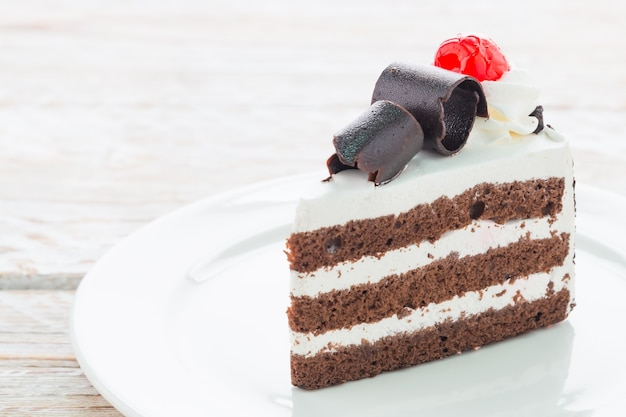 黒い森のケーキ