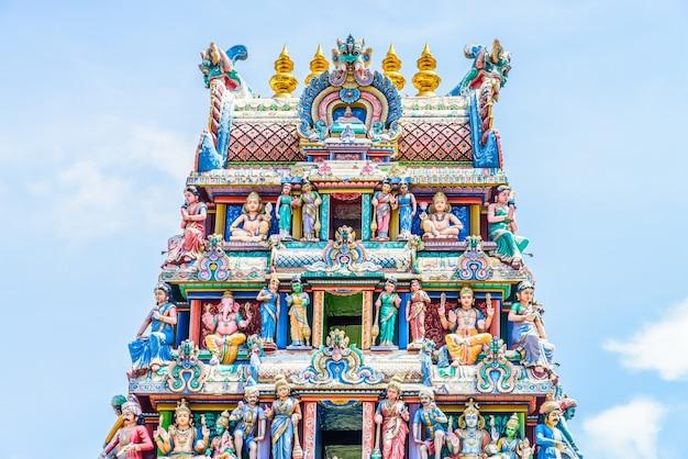 Индийский индуистский храм в сингапуре