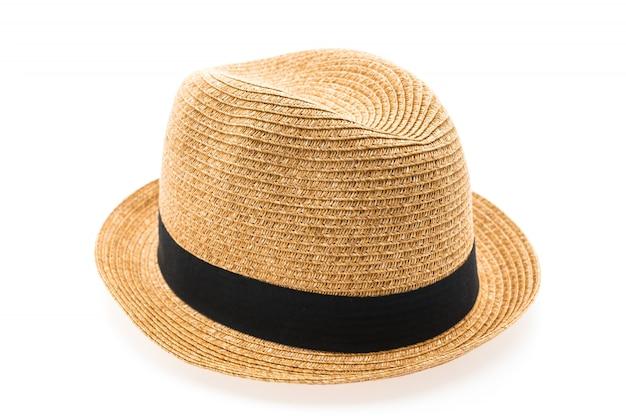 人間の麦わら帽子