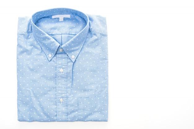 シャツ、白、