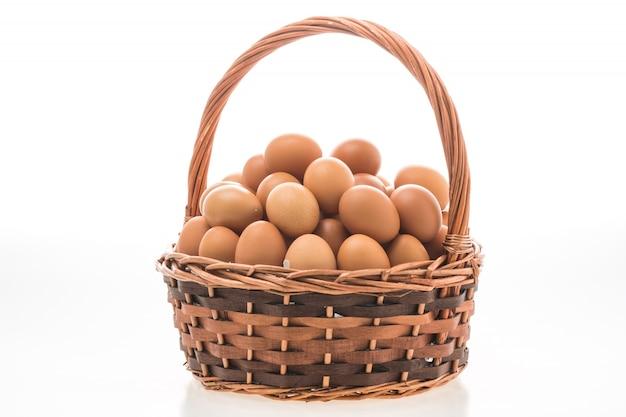 卵のバスケット