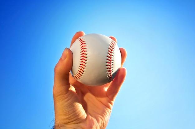 野球試合。