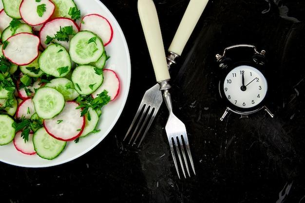 食事の時間。