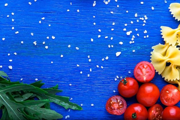 フードフレーム、パスタ食材、イタリア料理、