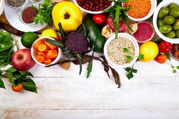 バランスのとれた健康食品