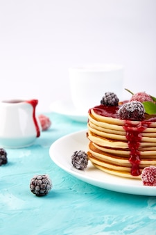 Блин на завтрак