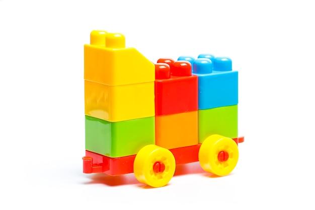 プラスチック製のビルディングブロック、おもちゃ