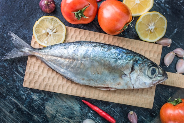 シーフード料理、魚