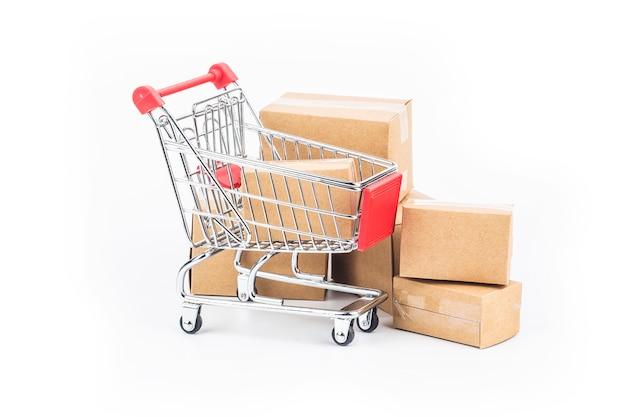 ショッピングカート、バッグ、ボックスの絶縁