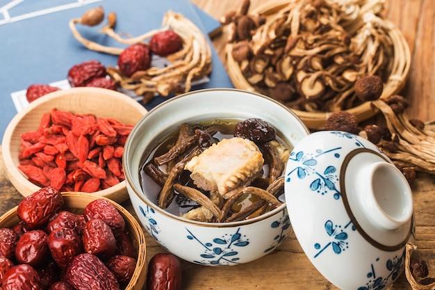 Чайное дерево с грибами