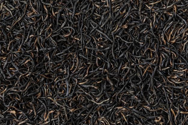 Черный фон чай