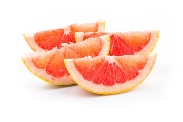 分離されたグレープフルーツ