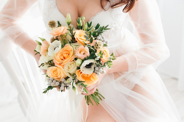 私室花嫁の朝