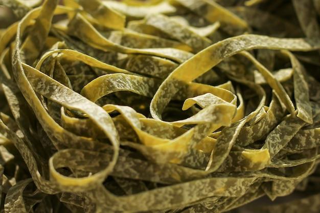 緑の麺テクスチャ背景
