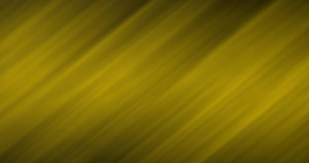 Размытые золотые линии картины на темном фоне как абстрактный