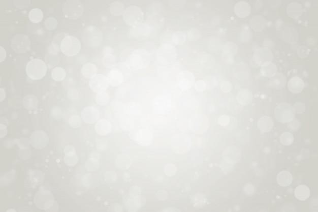 Абстрактный размытый белый и серый цвет круга боке