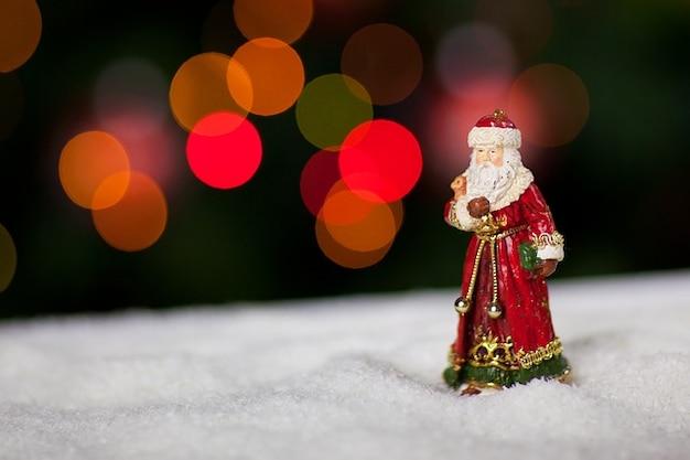 Светом святой человек клауса рождественские николай веселый