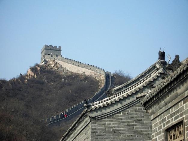 Большую защиту китае история структура стены